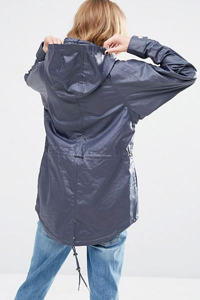 Rain Mac In Wax